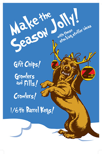 Get your holiday stocking stuffers at Zwei Brewing - Fort Collins, Colorado